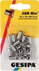 Ecrou aveugle Minipack aluminium