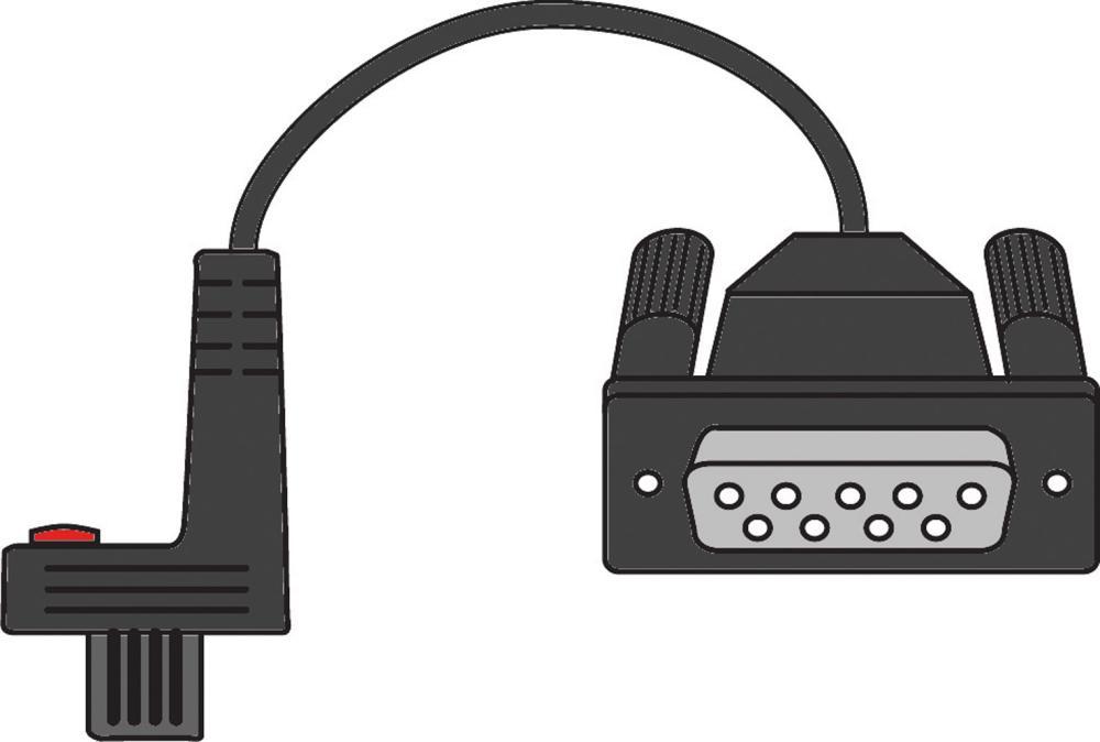 Câble de données RS 232C p. MarCator