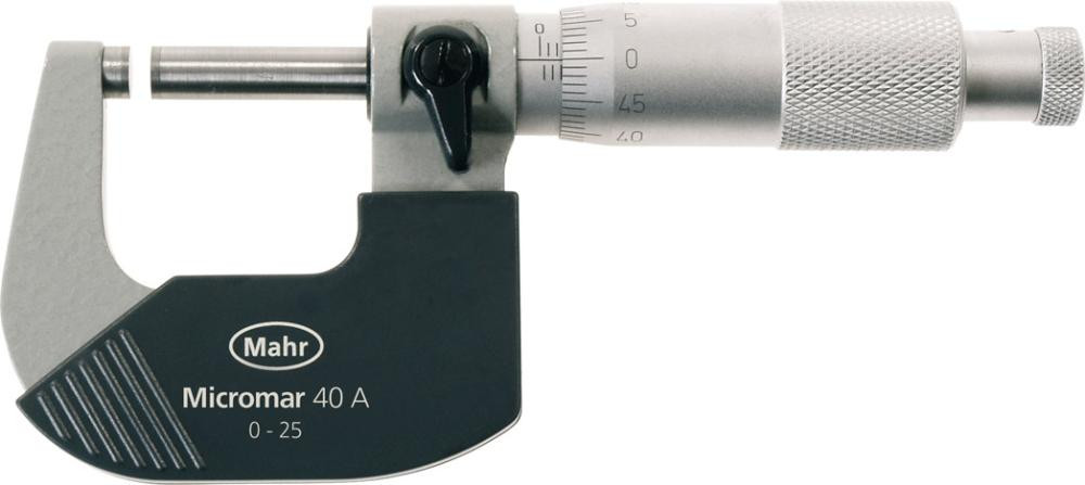 Micromètre 0–25 mm