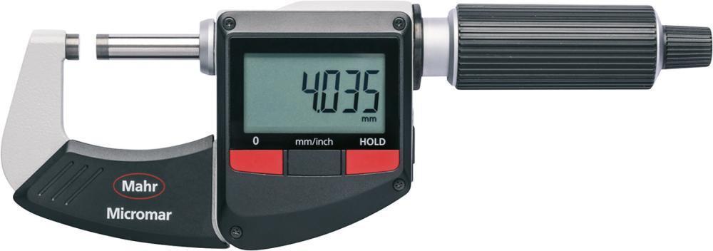 Micromètre IP40 numérique 0-25mm