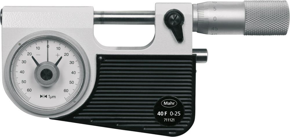 Comparateur micrométrique 0-25mm 40F
