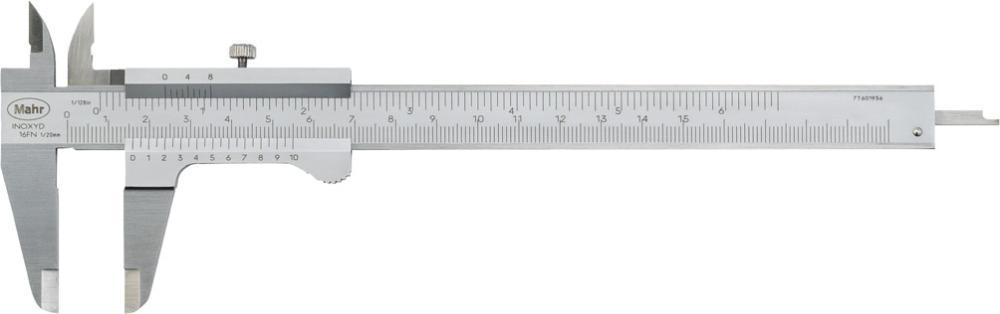 Pied à coulisse de poche 200mm, 0,05mm