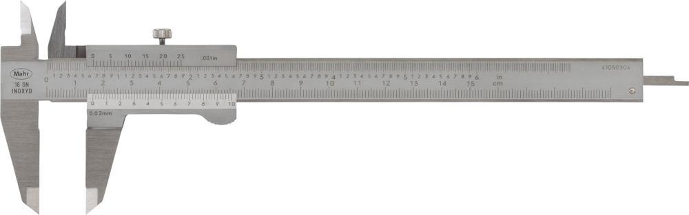 Pied à coulisse de poche 150mm, 0,02mm