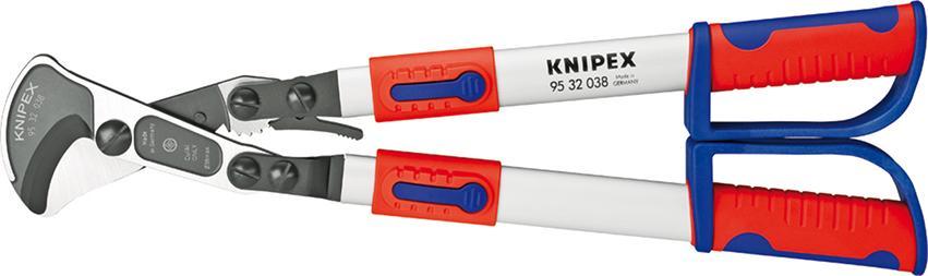 Coupe-câbles avec cliquet 560mm