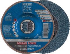 Disque à lamelles Z SG POWER STEELOX, corindon zirconium