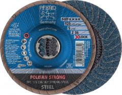 Disque à lamelles Z SGP STEEL, corindon zirconium STRONG